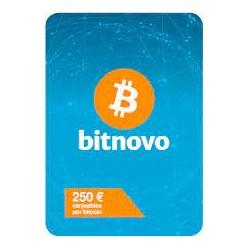Pin Bitnovo 250 eur
